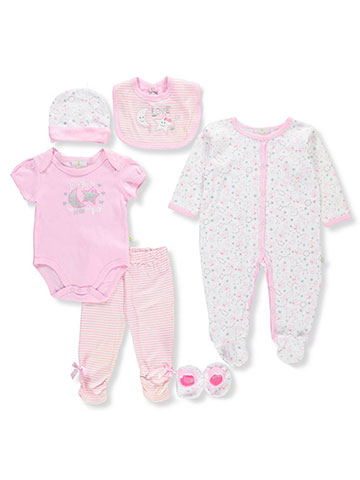 Duck Duck Goose Baby Girls' 7-Piece Layette Set - CookiesKids.com