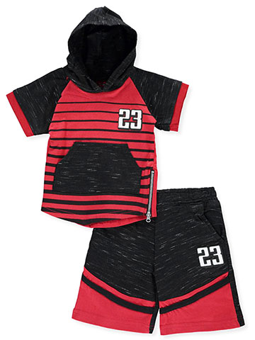 Quad Seven Baby Boys' 2-Piece Short Set Outfit - CookiesKids.com