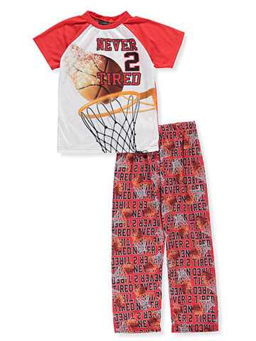 Quad Seven Boys' 2-Piece Pajama Pants Set - CookiesKids.com
