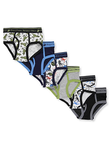 Beverly Hills Polo Club Boys' 6-Pack Briefs - CookiesKids.com