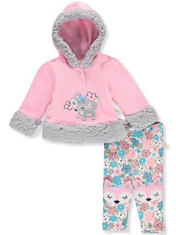 Duck Duck Goose Baby Girls' 2-Piece Pants Set Outfit - CookiesKids.com