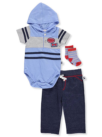 DDG Sport Baby Boys' 2-Piece Leggings Set Outfit with Socks - CookiesKids.com