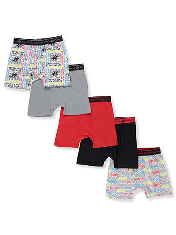 Beverly Hills Polo Club Boys' 5-Pack Boxer Briefs - CookiesKids.com