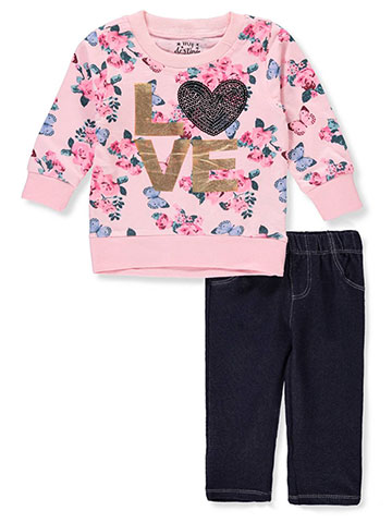 My Destiny Baby Girls' 2-Piece Leggings Set Outfit - CookiesKids.com