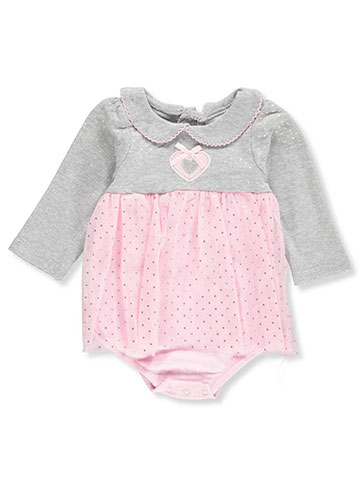 Duck Duck Goose Baby Girls' L/S Dress/Bodysuit Combo - CookiesKids.com