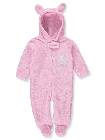 Duck Duck Goose Baby Girls' Hooded Pram Suit - CookiesKids.com