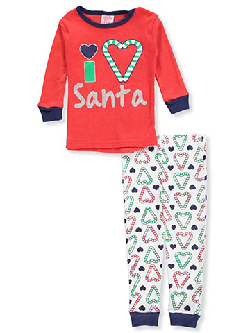 Mon Petit Baby Girls' 2-Piece Pajamas - CookiesKids.com