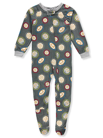 Quad Seven Boys' 1-Piece Footed Pajamas - CookiesKids.com