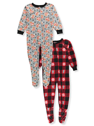 Mac Henry Boys' 2-Pack 1-Piece Footed Pajamas - CookiesKids.com
