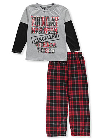 Quad Seven Boys' 2-Piece Pajama Set - CookiesKids.com