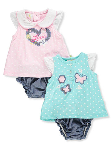 Duck Duck Goose Baby Girls' 2-Pack Dress/Bodysuit Combo - CookiesKids.com