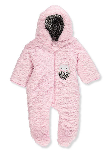 Duck Duck Goose Baby Girls' 1-Piece Snowsuit - CookiesKids.com