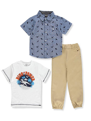 Quad Seven Boys' 3-Piece Pants Set Outfit - CookiesKids.com