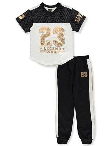 Quad Seven Boys' 2-Piece Pants Set Outfit - CookiesKids.com