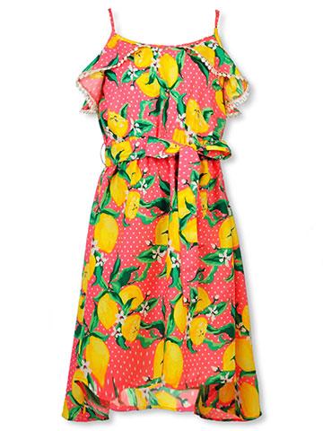 b16641a3fad1f Real Love Girls' Belted Dress - CookiesKids.com