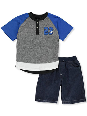 Quad Seven Boys' 2-Piece Shorts Set Outfit - CookiesKids.com