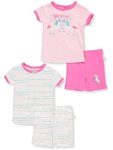 1bdda82ed3e Duck Duck Goose Baby Girls  4-Piece Pajamas - CookiesKids.com