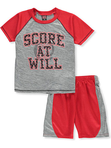 a7d7ae970c Mad Game Boys' 2-Piece Shorts Set Outfit - CookiesKids.com