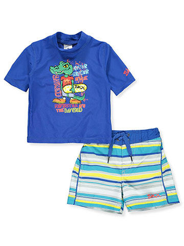 Skechers Baby Boys' 2-Piece Swim Set - CookiesKids.com