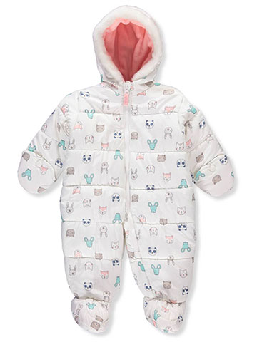 Carter's Baby Girls' Insulated Pram Suit - CookiesKids.com
