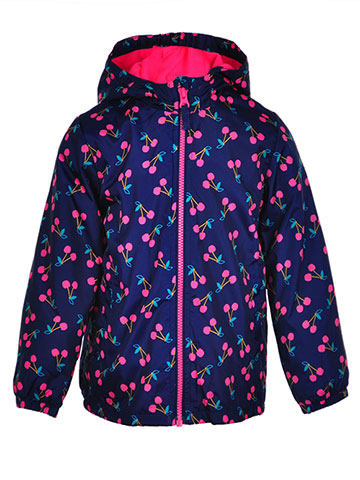 OshKosh Girls' Hooded Rain Jacket - CookiesKids.com