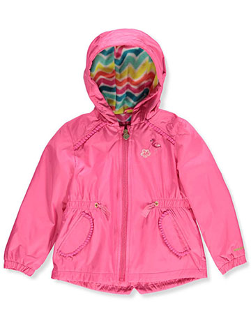 London Fog Girls' Hooded Rain Jacket - CookiesKids.com