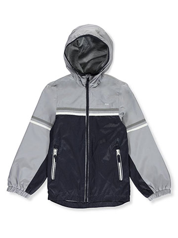 London Fog Boys Hooded Windbreaker Jacket - CookiesKids.com