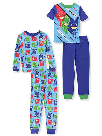 PJ Masks Boysu0027 4 Piece Pajamas