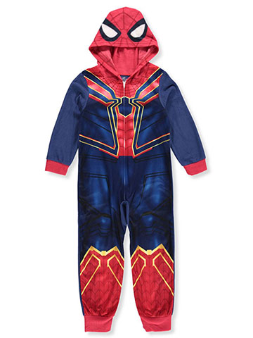 Avengers Boys' 1-Piece Hooded Pajamas - CookiesKids.com