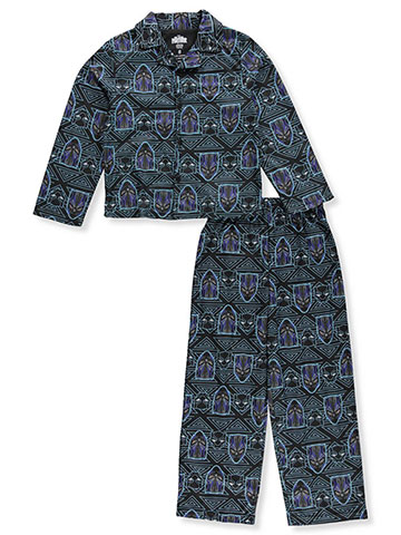 Black Panther Boys' 2-Piece Pajamas - CookiesKids.com