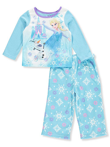Disney Frozen Baby Girls' 2-Piece Pajamas Featuring Elsa & Olaf - CookiesKids.com