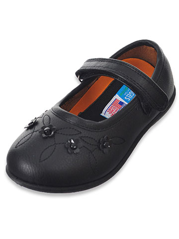 Angels Girls' Mary Jane Shoes (Sizes 6 – 12) - CookiesKids.com