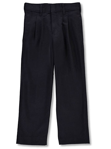 A+ Boys' Pleated Uniform Pants - CookiesKids.com