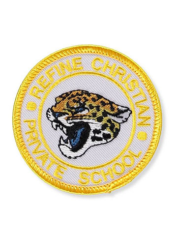 Refine Christian Private School Embroidered Patch - CookiesKids.com