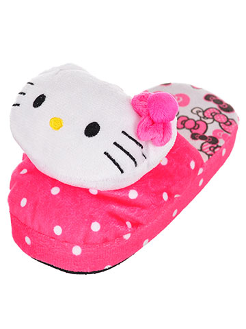 a5d22765c Hello Kitty Girls' Slippers (Sizes 5 – 10)