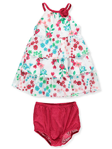 Famous Brand Baby Girls' Dress with Diaper Cover - CookiesKids.com