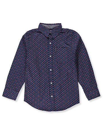 Ben Sherman Boys' L/S Button-Down Shirt - CookiesKids.com