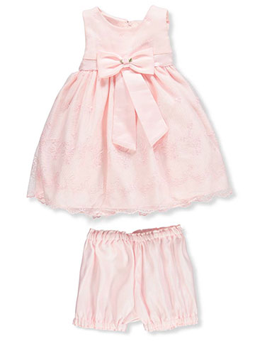 Princess Faith Baby Girls' Dress with Diaper Cover - CookiesKids.com