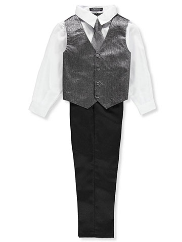 Andrew Fezza Boys' 4-Piece Vest Set - CookiesKids.com