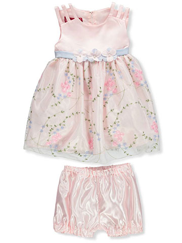 Princess Faith Girls' Dress with Diaper Cover - CookiesKids.com