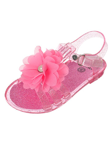 First Steps by Stepping Stones Girls' Sandals (Sizes 3 – 6) - CookiesKids.com