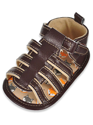 Stepping Stones Baby Boys' Sandal Booties - CookiesKids.com