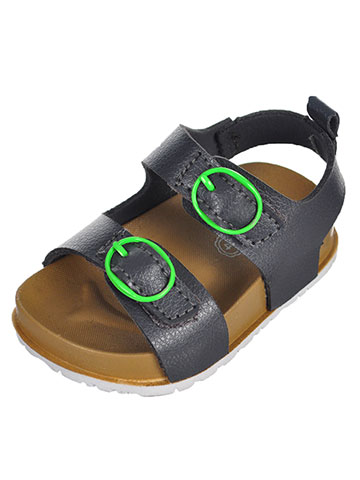 First Steps by Stepping Stones Boys' Sandals (Sizes 2 – 4) - CookiesKids.com