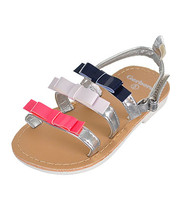 Gerber Girls' Sandals (Sizes 3 – 6) - CookiesKids.com
