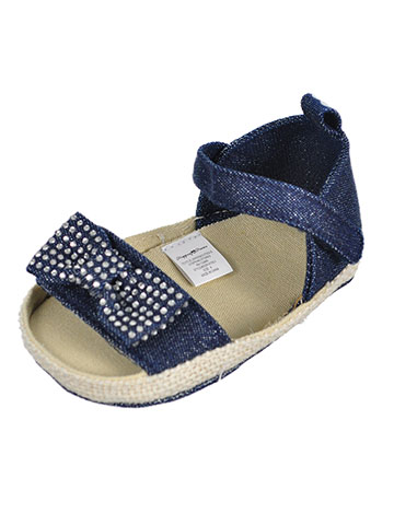 Stepping Stones Baby Girls' Espadrille Sandal Booties - CookiesKids.com