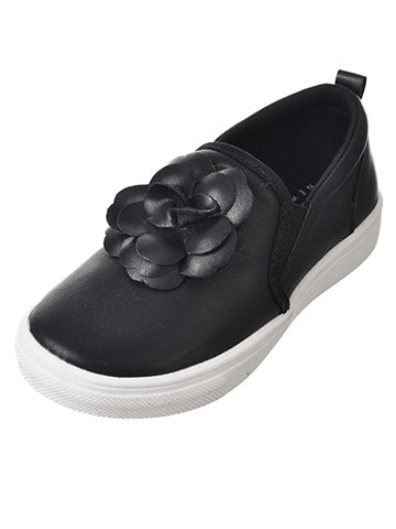 Nicole Miller Girls' Slip-On Sneakers (Sizes 5 – 10) - CookiesKids.com