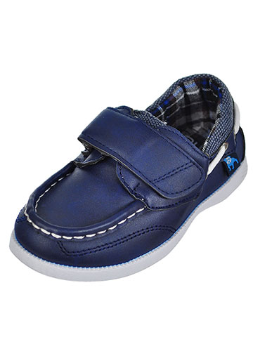 BUM Equipment Boys' Boat Shoes (Sizes 5 –10) - CookiesKids.com