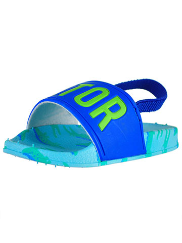 First Steps by Stepping Stones Baby Boys' Slide Sandals - CookiesKids.com