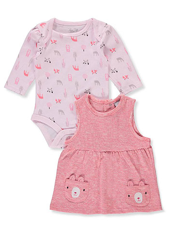 Rene Rofe Baby Girls' 2-Piece Dress Set Outfit - CookiesKids.com