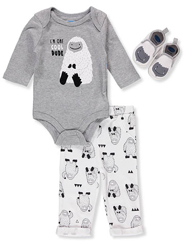 Bon Bebe Baby Boys' 3-Piece Pants Set Outfit - CookiesKids.com
